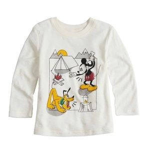 Disney's Mickey Mouse Pluto Baby Boy Slubbed Tee